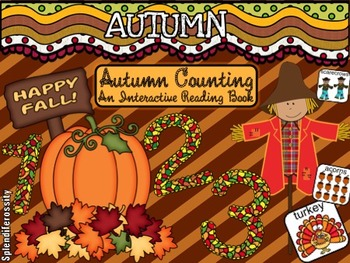Autumn Counting: An Interactive Reading Math Book SPANISH Edition