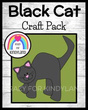 Autumn/Halloween Craft: Black Cat