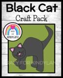 Black Cat Craft (Halloween, Fall, Autumn, Trick-or-Treat)