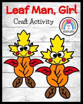 Autumn Craft: Leaf Man