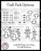 Autumn Craft Pack: Owl, Tree/Crow, Christopher Columbus, Fire Dog, Leaf Man