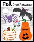 Fall Craft Pack: Pumpkin Stack, Spider, Pumpkin Life Cycle, Bat (Halloween)