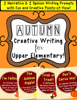 Autumn Creative Writing for Upper Elementary