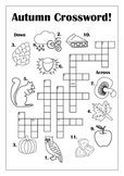 Autumn Crossword