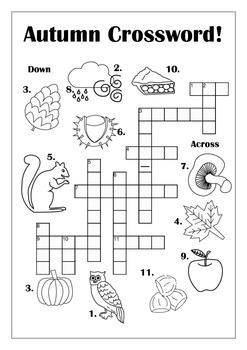 Autumn Crossword
