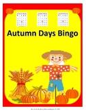 Autumn Days Bingo
