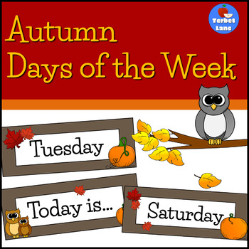 Autumn Days of the Week