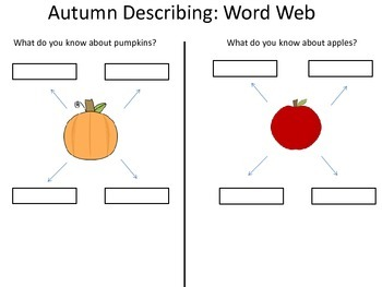 Autumn Describing and Comparing/Contrasting