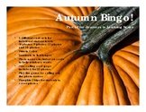 Autumn Differential Bingo
