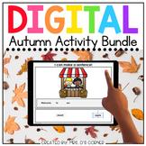 Autumn Digital Activity Bundle [12 digital activities!]  