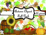Beautiful Autumn Clipart - Beautiful Fall Clipart - Mega P