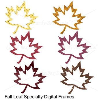 Fall, Autumn Digital Frame Clip Art