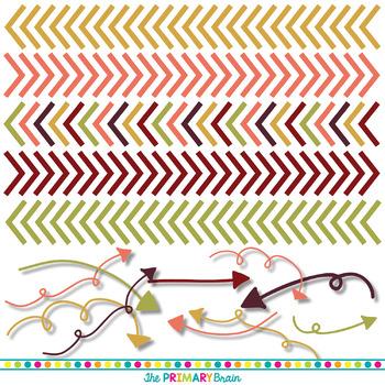 Autumn Digital Paper and Clip Art Pack