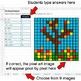 Autumn - Dividing Integers - Google Sheets Pixel Art
