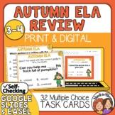 Autumn ELA Task Cards