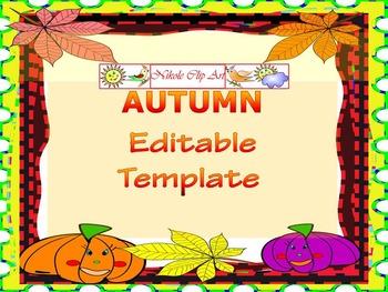 Fall - Thanksgiving Activities - Writing -  Bulletin Board