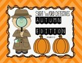 Autumn Edition Sight Word Detectives