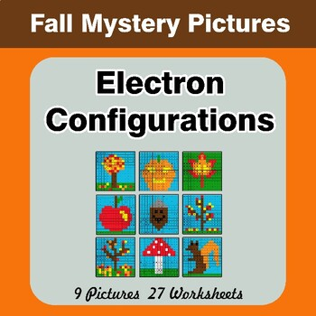 Autumn: Electron Configurations - Mystery Pictures