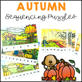 Autumn Fall Activities Number Sequencing Puzzles 1 to 20