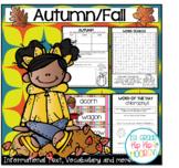 Autumn/Fall  Activities and Craft!