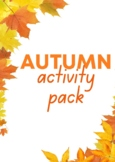 Autumn Fall Activity Pack for Younger Kids