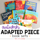 Autumn / Fall Adapted Piece Book Set ( 8 book sets included!)