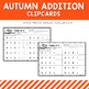 Autumn Fall Addition Clipcards