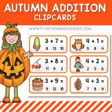 Autumn Fall Addition Clipcards