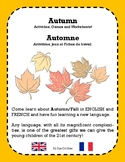 Autumn/Fall - Automne PACK (Bilingual English & French)