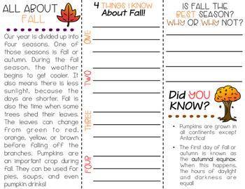 Autumn/Fall Brochure