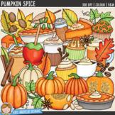 Autumn / Fall Clip Art: Pumpkin Spice