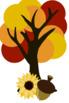 Autumn/Fall Clipart Mini Bundle
