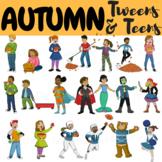 Autumn Clipart Fall Clipart Tweens & Teens (Autumn Fall Ac