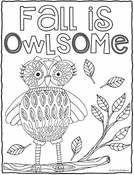 Fall Coloring Pages | 20 Fun, Creative Designs