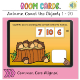 Autumn Fall Count the Objects 1 to 20 BOOM LEARNING CARDS