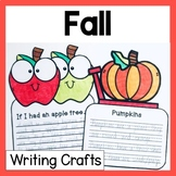 Autumn Fall Craftivity Writing Prompts and Crafts