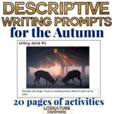 Descriptive Writing tasks for fall or Autumn
