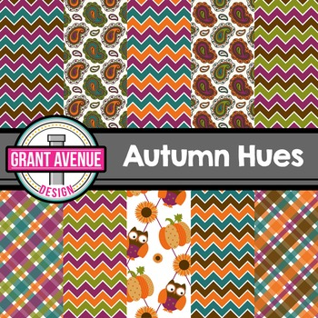Autumn-Fall Digital Papers