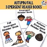 Autumn Fall Emergent Reader Books