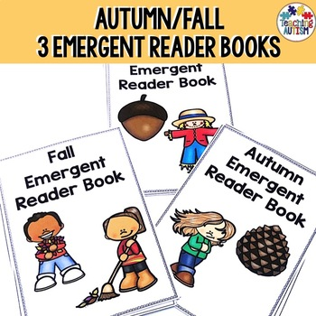 Emergent Readers for Autumn Fall