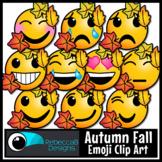 Autumn Fall Emoji Clip Art