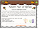 Autumn/Fall Fact and Opinion Scoot