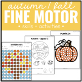 Autumn / Fall Fine Motor Practice Skills and Activities