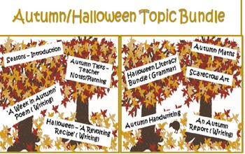 Autumn/Fall/Halloween Topic Pack