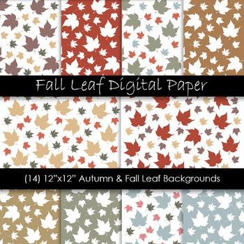 Autumn & Fall Leaf Backgrounds