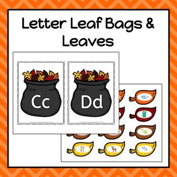 Autumn/Fall Leaf Letter Sounds