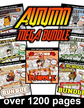 Autumn Fall Mega Bundle