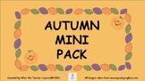 Autumn/Fall Mini Pack