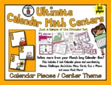 Autumn / Fall Mouse  - Month of Math Centers & Calendar Pi