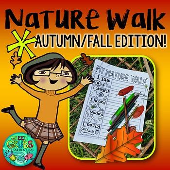 Fall/Autumn Nature Walk FREEBIE